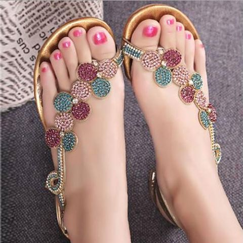 da699c07483bc Do you like wearing flat sandal in summer  Which sandal do you like better  above  Let s discuss…… Next article