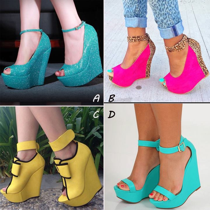 f82dac9b73528 Second style  Wedge shoes matches.  1509021 647907058689076 4368924906522228768 n